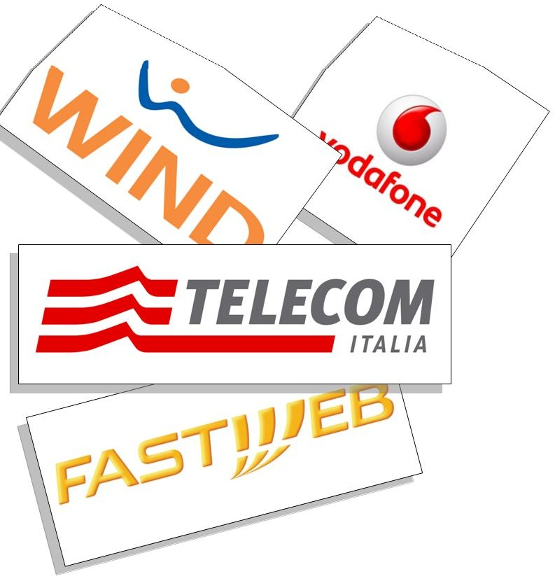 Call center inbound telefonia  - Call center fastweb telecom wind vodafone